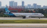 C-GEZD @ FLL - Air Transat - by Florida Metal