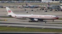 CS-TOV @ MIA - TAP Air Portugal retro