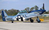 N351DT @ KISM - North American P-51D