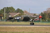 N977WH @ KISM - Curtiss P-40N