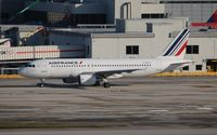 F-GKXU @ MIA - Air France