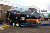 WJ721 - English Electric Canberra TT.18 at the Morayvia Aerospace Centre