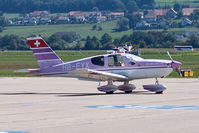HB-EYX @ LSZG - At Grenchen