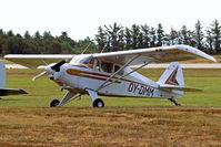 OY-DMM @ EKVJ - OY-DMM   Piper PA-22-150 Tri-Pacer [22-5842] Stauning~OY 14/06/2008