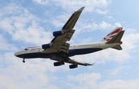G-BYGG @ ORD - British Airways