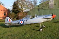 G-ISAC @ X3FT - Parked at Felthorpe.