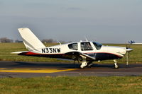 N33NW @ EGSH - Just landed at Norwich.