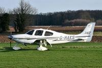 G-MAKS @ X3CX - Just landed at Northrepps.