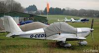 G-CEDV @ EGHP - At Popham - by Clive Pattle