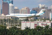 N3CP @ FLL - Gulfstream 650