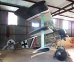 N1917H @ 85TE - Fokker Dr I replica at the Pioneer Flight Museum, Kingsbury TX - by Ingo Warnecke