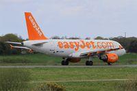 G-EZMH @ LFRB - Airbus A319-111, Taxiing rwy 25L, Brest-Bretagne airport (LFRB-BES) - by Yves-Q