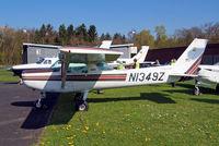 N1349Z @ EDFC - N1349Z   R/Cessna F.152 [1879] Aschaffenburg-Grossostheim~D 18/04/2016 - by Ray Barber
