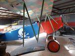 N1918H @ 85TE - Fokker D VII replica at the Pioneer Flight Museum, Kingsbury TX - by Ingo Warnecke