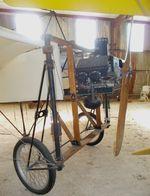 N1909E @ 85TE - Bleriot XI (Junge, J) replica at the Pioneer Flight Museum, Kingsbury TX - by Ingo Warnecke