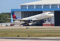 N316DN @ TPA - Delta - by Florida Metal