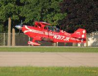 N317JK @ OSH - Pitts S-2C