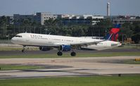 N327DN @ TPA - Delta - by Florida Metal
