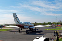 D-EUVH @ EDFC - D-EUVH   Piper PA-46-350P Malibu Mirage JetPROP DLX [4636345] Aschaffenburg-Grossostheim~D 18/04/2016 Seen here being prepared for the German register unmarked. - by Ray Barber