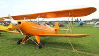 N335HC @ OSH - Hatz biplane