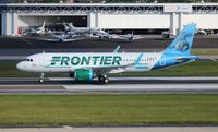N341FR @ TPA - Fran the Sea Lion Frontier