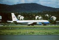 85-6973 @ FBU - Oslo Fornebu 4.7.1990 - by leo larsen