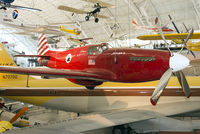 """N1202 @ KIAD - """"Excalibur III"""" on display in the Boeing Aviation Hangar at Steven F. Udvar-Hazy Center, NASM. The Mustang belonged to Paul Mantz, who won the 1946 and 1947 Bendix races. Capt. C.F. Blair bought the aircraft and set several records."""