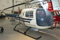 """57-2729 @ KIAD - This was the first helicopter to fly a U.S. President. During civil defence exercise """"Operation Alert"""" on July 12, 1957, Pres. Eisenhower was flown by Maj. J.E. Barrett, with a second H-13J Ranger following."""