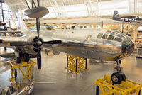 """44-86292 @ KIAD - """"Enola Gay"""" on display at Steven F. Udvar-Hazy Center, NASM. This is a Silverplate conversion that was assigned to the 509th Composite Group."""