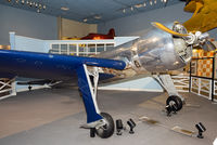 N258Y - On display in the Golden Age of Flight Hall at the National Air and Space Museum, Washington, D.C. On Sept. 13, 1935, Howard Hughes set a new world speed record by flying the H-1 at 567 km/h.