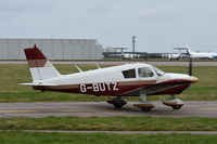 G-BUTZ @ EGSH - Departing from Norwich. - by Graham Reeve