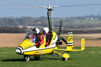 G-PAFF @ X3CX - On the ground at Northrepps. - by Graham Reeve