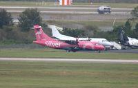 N400SV @ MCO - Silver ATR-42