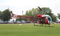 N474JP @ WS17 - Bell 47