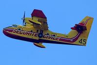 F-ZBMF @ LFKC - In flight near Feliceto