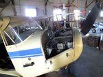 N31849 - Aeronca 65-LB Super Chief, being restored at the Aviation Museum at Garner Field, Uvalde TX