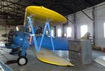 N75160 @ KUVA - Boeing (Stearman) A75N1 (PT-17) at the Aviation Museum at Garner Field, Uvalde TX