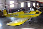 N3661F @ KUVA - Druine D.3G Turbulent at the Aviation Museum at Garner Field, Uvalde TX