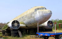 N2271D - Dismantled in a lumber yard in Phachi on road #3056, Province of Ayutthaya / Thailand