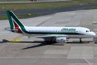 EI-IMR @ EDDL - Airbus A319-111 - AZ AZA Alitalia 'ItaloCalvino' - 4875 - EI-IMR - 18.07.2017 - DUS - by Ralf Winter
