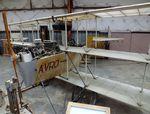 N40756 - Avro (Jung J A) 1910 Triplane 80 % replica at the Texas Air Museum at Stinson Field, San Antonio TX