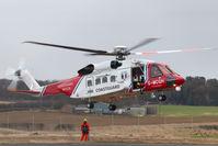 G-MCGH @ EGNJ - G-MCGH winch training at Humberside Airport - by Gareth Alan Watcham