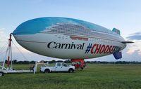 N618LG @ KORL - Carnival Blimp