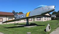 51-2738 - F-86E at Frankenmuth Michigan