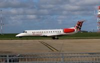 G-SAJR @ EGSH - Arriving on stand at NWI