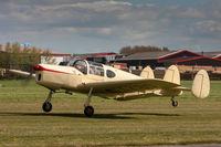 G-AKBO @ EGBR - Miles M38 Messenger 2A G-AKBO Breighton 4/5/15 - by Grahame Wills