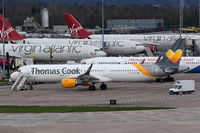 G-TCDC @ EGCC - Parked at Manchester. - by Graham Reeve