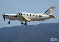 131 @ LEMG - XQ-131 FAF Socata TBM700a departing from Malaga (LEMG) - by Ian Lane