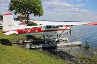 N900JB @ FA1 - Cessna A185F - by Mark Pasqualino