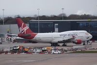 G-VROS @ EGCC - Departing from Manchester.